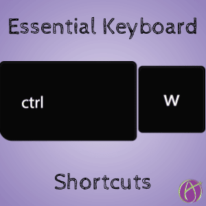 Essential Keyboard Shortcuts for Teachers by Alice Keeler