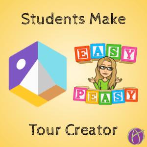Students make tour creator