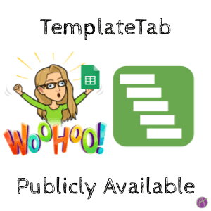TemplateTab by Alice Keeler