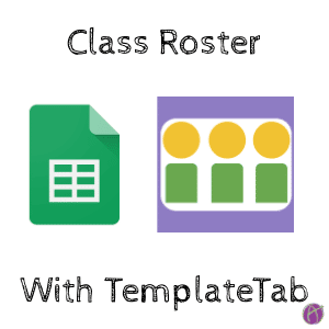 Class Roster with TemplateTab