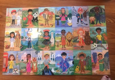 Puzzles for the Puzzled: Children of the World