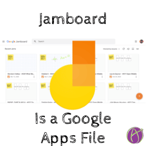 Jamboard is a google apps file