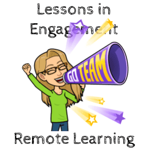Lessons in Engagement of online learning