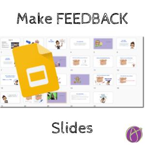Make feedback slides in Google Slides