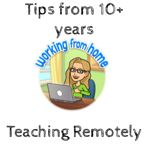 Teaching remotely for 10 years