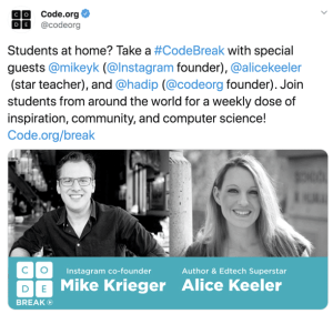Alice Keeler guest on Code Break