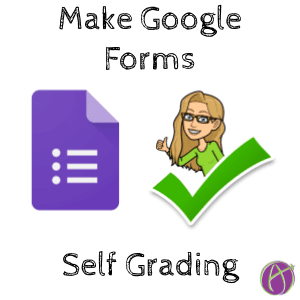 Make Google Forms Self Grading
