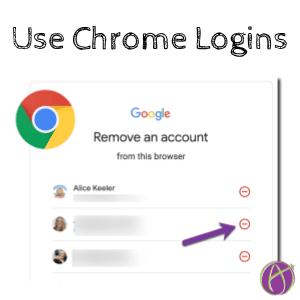 Use Chrome logins