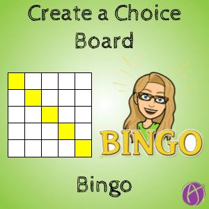 Bingo Choice Board