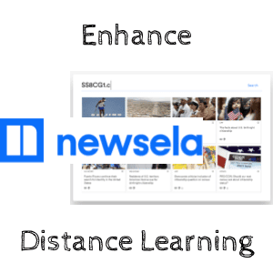 Enhance Distance Learning with Newsela