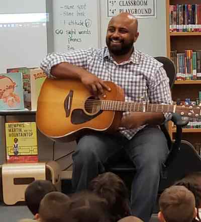 Author @storiesbydennis is Helping Students Find Their Unique Song