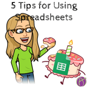 5 Time Saving Tips for Teaching with Spreadsheets