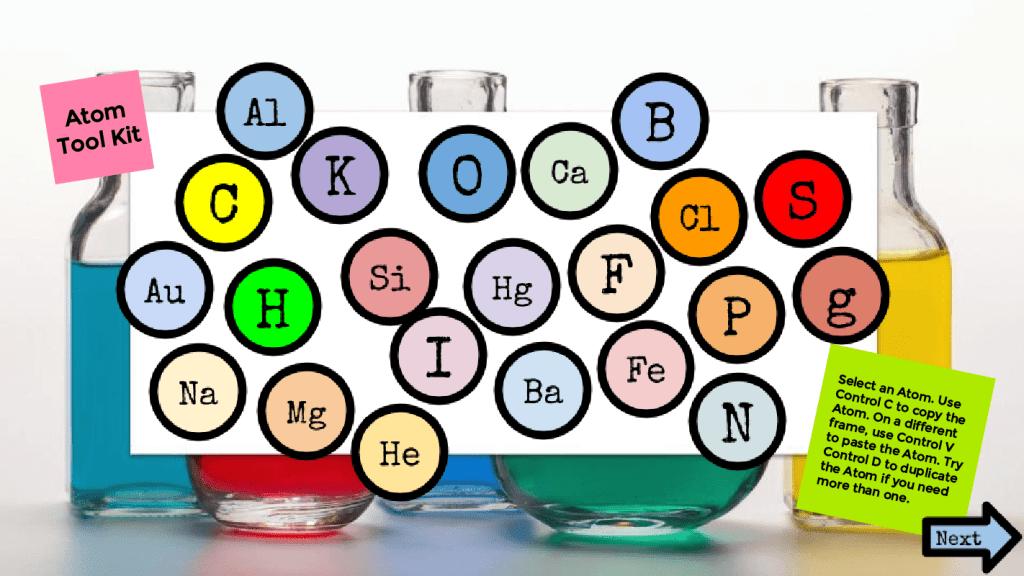 Balancing Chemical Equations toolbox