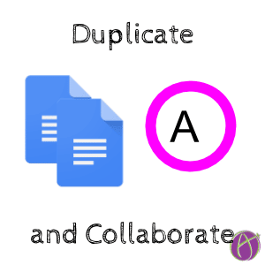 Hot Tip: Duplicate the Tab and Collaborate