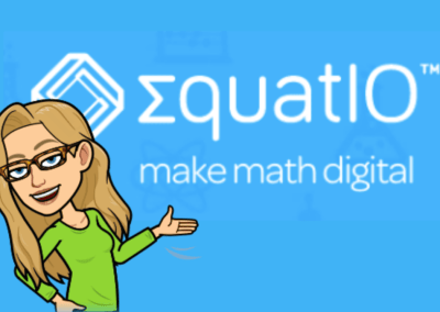 Using EquatIO for Math and Science