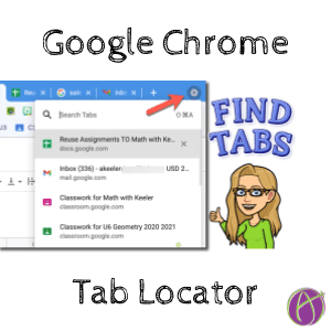 New Feature: Tab Locator in Google Chrome