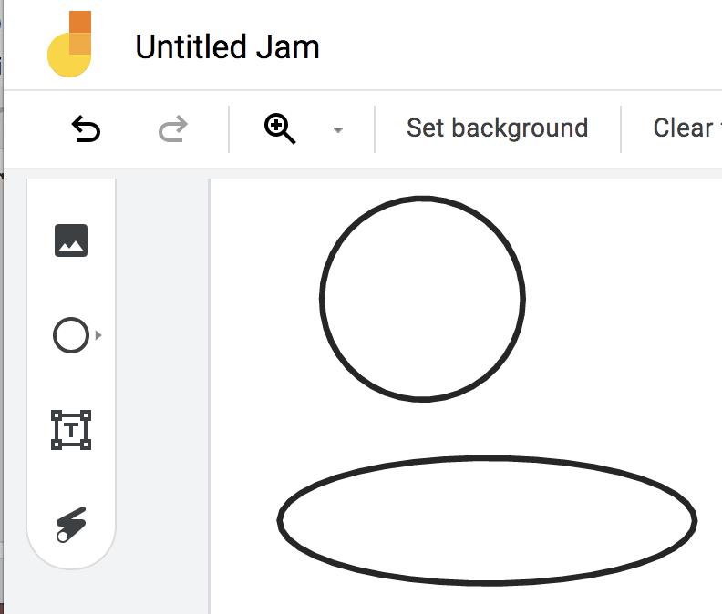 Jamboard: Making a Perfect Circle