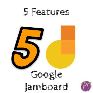 5 Features of Google Jamboard