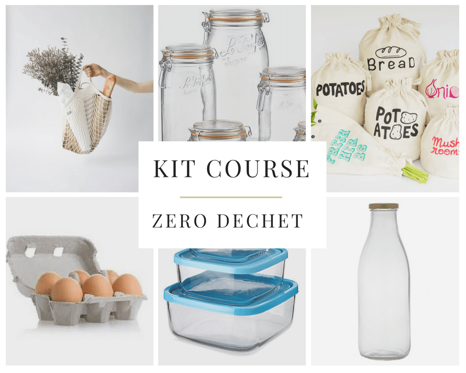 kit courses zero dechet