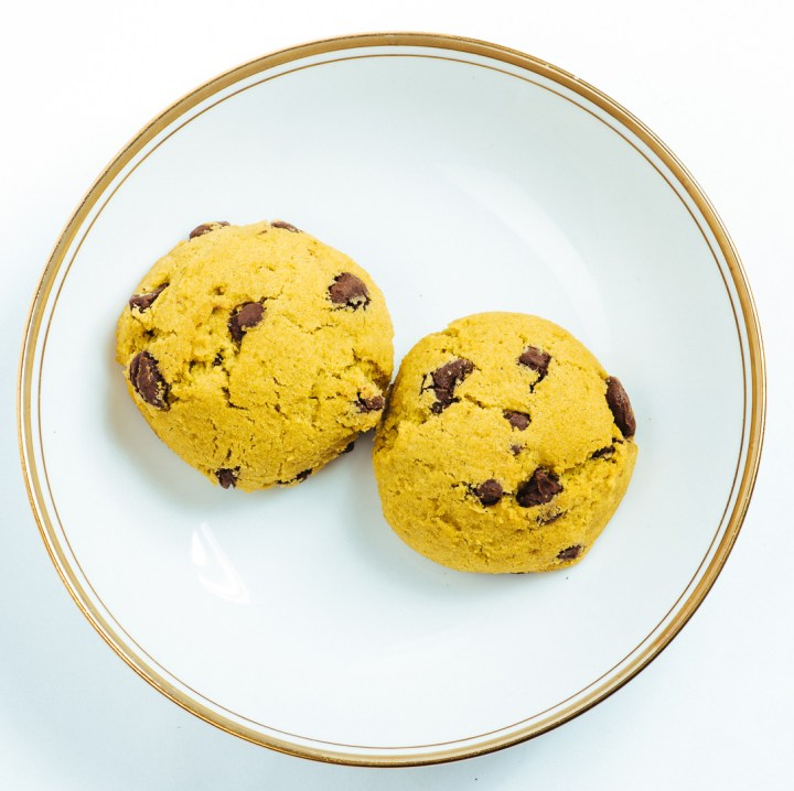 Moonman's Mistress Chocolate Chip Crater Cookies
