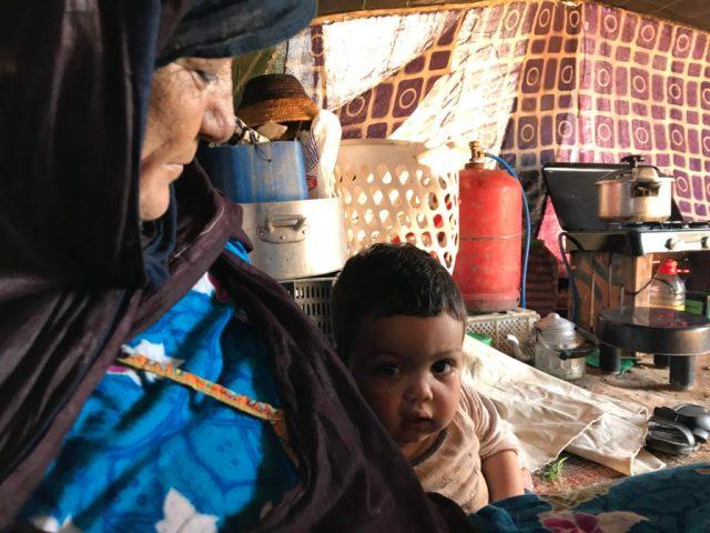 Nomad Berber tent Morocco