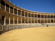 The bullfight arena in Ronda is one of the oldest in Andalusia.