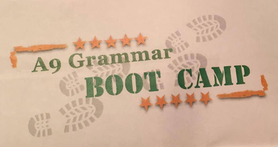 A9 Grammer Boot Camp