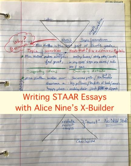 Writing STAAR Essays