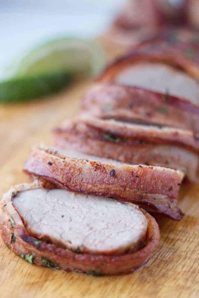 Pork Roast Recipes Traeger : roast, recipes, traeger, Traeger, Bacon-Wrapped, Tenderloin, License, Grill