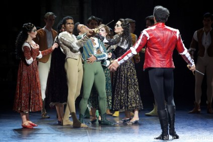 Romeo & Juliet - ENB 2014 - Photograph by Alice Pennefather
