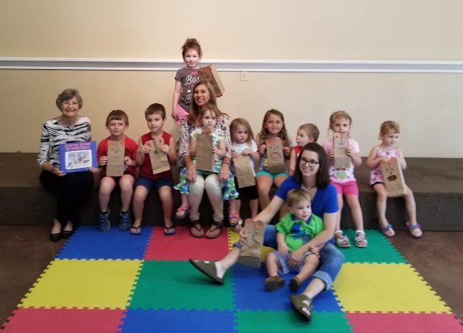 Bears & Berries event at Mendenhall Library