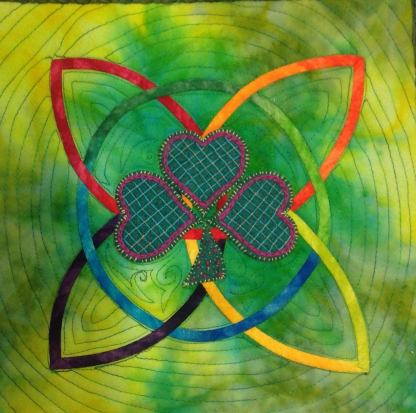 Celtic Knotwork and Felt Applique