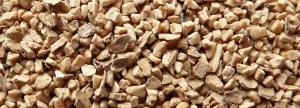 material de sablare organic - granule vegetale