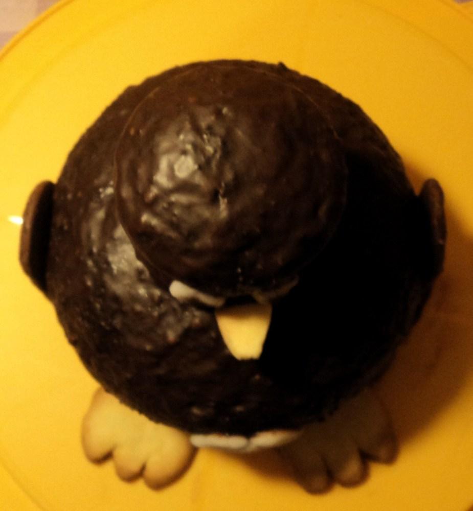 Torta bigusto, a piani, a forma di pinguino (6/6)