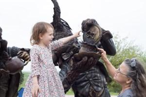 Bridgette Mongeon sculpts Alice In Wonderland