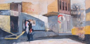Urban Crossing by Alice Sheridan