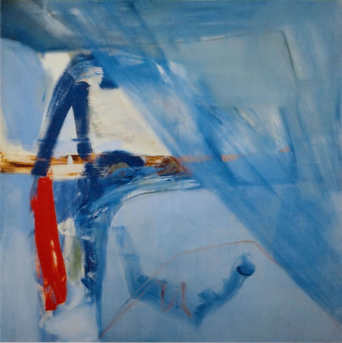 Peter Lanyon Soaring Flight 1960 oil on canvas 152.5 x 152.5cm Arts Council Collection