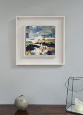 unearthed-framed-landscape-painting-grey-wall-alice-sheridan