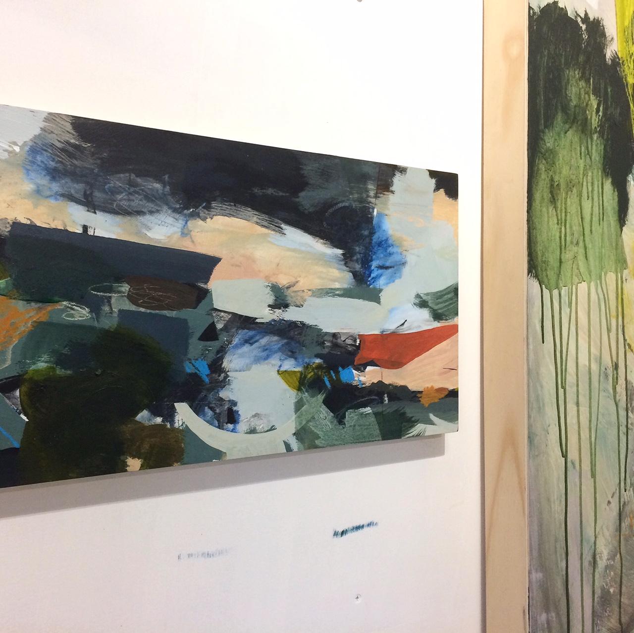 Alice Sheridan studio work in progress