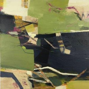 Inverse 30x30cm original painting Alice Sheridan
