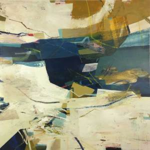 abstract painting by Alice Sheridan