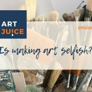Podcast - is making art selfish?