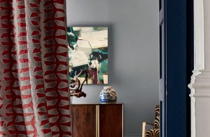 Split Fused painting by Alice Sheridan Zoffany fabric