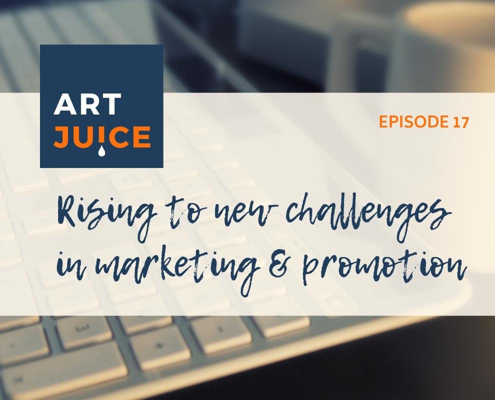Art Juice podcast art marketing