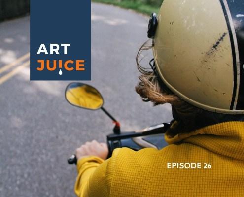 Art Juice podcast artist journey