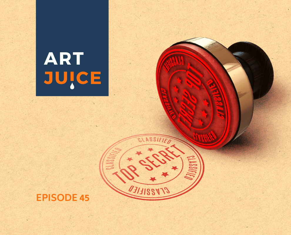 Art Juice podcast sharing art techniques