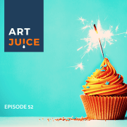 Art Juice podcast Daring Greatly