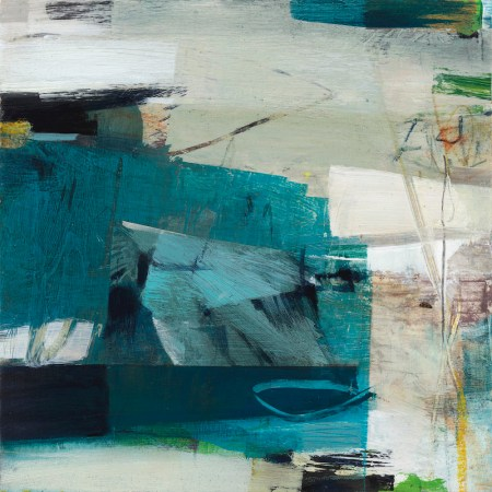Alice Sheridan blue abstract painting