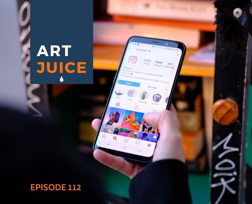 Artists on Instagram podcast