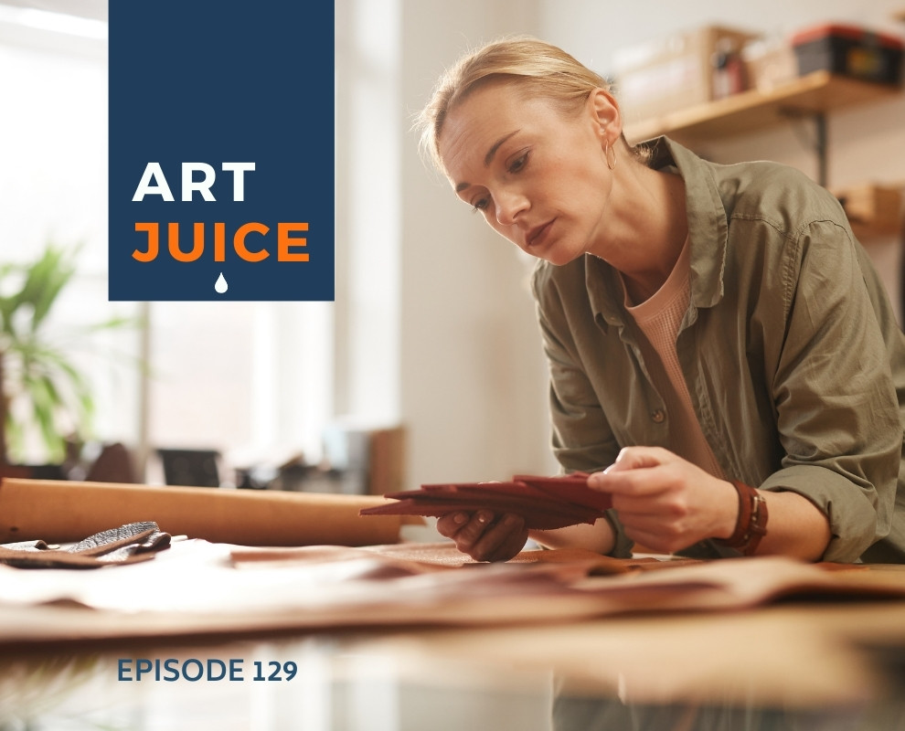 Art Juice podcast artist process